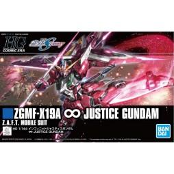 HG Cosmic Era 231 - Gundam Destiny Z.G.M.F.-X19A Infinite Justice Gundam Z.A.F.T. Mobile Suit 1/144