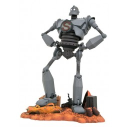 Dream Works/Warner Bros - The Iron Giant - Diamond Gallery Statue - The Iron Giant Superman Ver.