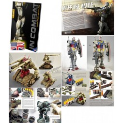 IN COMBAT Painting Mechas 2nd Edition VERSIONE INGLESE: dipingere, invecchiare e ambientare i MECHAS - 92 pagine lingua