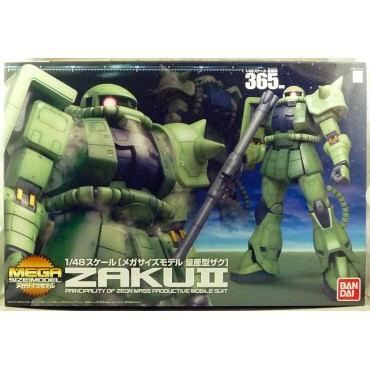 MEGA SIZE Model 365 - Zaku II Mega Size 1/48