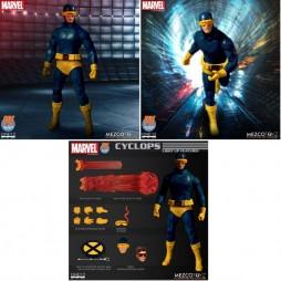 Mezco Toys - One Twelve Collective - Marvel Comics - Classic Comic Version - X-Men - Cyclops - Action Figure - PX Exclus