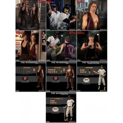 Mezco Toys - One Twelve Collective - The Warriors The Movie - Warriors Collection Deluxe Box Set - Action Figure - Cloth