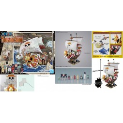 One Piece - Raise Of The Jolly Roger - The Grandline Ships - Thousand Sunny Land Of Wano Ver. Plastic Kit