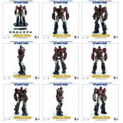 Transformers - Bumblebee Beetle Spin Off - Optimus Prime DLX Scale action figure 28,5 cm - By Tree A