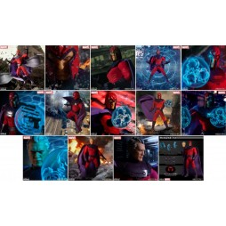 Mezco Toys - One Twelve Collective - Marvel Comics - Classic Comic Version - X-Men - Magneto - Action Figure - Cloth Ver