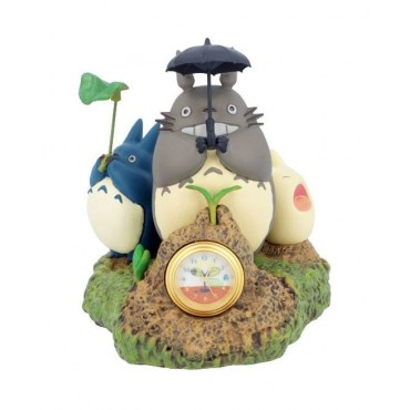 Il Mio Vicino Totoro - My Neighbour Totoro - Orologio Diorama da Tavolo - Dondoko Dance Totoro & Friends Table Clock Dio