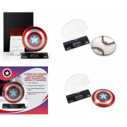 Marvel Comics - Captain America - 1/6 Scale Prop Replica - The Avengers - Captain America Metal Shield Limited Edidtion