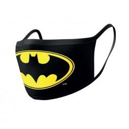 Dc Comics - Batman - Mascherina con logo - Facemask With Logo