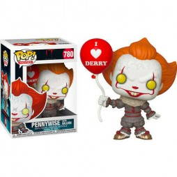 POP! Movies 780 IT 2nd Chapter - Pennywise With Balloon Vinyl Figure