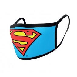 Dc Comics - Superman - Mascherina con logo - Facemask With Logo