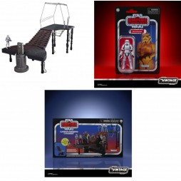 Star Wars - The Black Series/Kenner - Vintage 3,75 Inch action figure Playset 2020 - EP.V E.S.B. Freezing Chamber with S