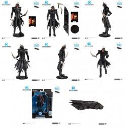 DC Comics - DC Multiverse Action Figure - Dark Nights: Metal - Build A Action Figure - The Batman Who Laughs 18 cm