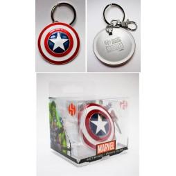 Marvel Comics - Keyring - 3D Metal - Classic - Captain America Coloured Shield