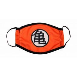 Dragon Ball - Gokou - Mascherina Kame Kanji Logo - Facemask With Kame Kanji Logo