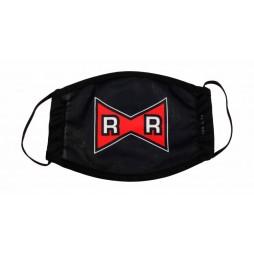 Dragon Ball - Red Ribbon - Mascherina Red Ribbon Logo - Facemask With Red Ribbon Logo