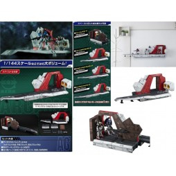 HG Universal Century - Mobile Suit Z Gundam - Argama Catapult Deck by Megahouse 1/144 - Realistic Model Series for 1/144