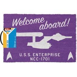 Star Trek - Doormat - Zerbino - Welcome Aboard