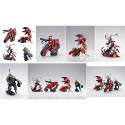 Akira The Movie - Trading Figure Box SET Part 4 - Complete 6 Figure Set