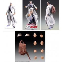 JoJo\'s Bizarre Adventure - Super Action Statue - Medicos - Jotaro Kujo White Suit