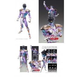 JoJo\'s Bizarre Adventure - Super Action Statue - Medicos - Star Platinum Purple Ver.