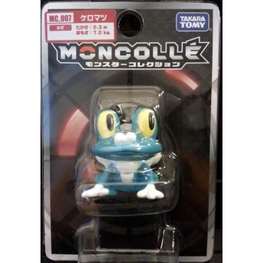 Pokemon Monster Collection - Moncolle - MC.007 - X & Y nr.007 - Froakie - Figure - Takara Tomy