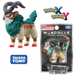 Pokemon Monster Collection - Moncolle - MC.010 - X & Y nr.090 - Gogoat - Figure - Takara Tomy
