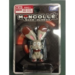 Pokemon Monster Collection - Moncolle - MC.012 - X & Y nr.010 - Bunnelby - Figure - Takara Tomy