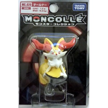 Pokemon Monster Collection - Moncolle - MC.020 - X & Y nr.005 - Braixen - Figure - Takara Tomy