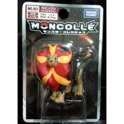 Pokemon Monster Collection - Moncolle - MC.027 - X & Y nr.058 - Pyroar - Figure - Takara Tomy