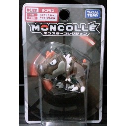 Pokemon Monster Collection - Moncolle - MC.031 - X & Y nr.064 - Tyrunt - Figure - Takara Tomy
