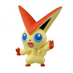 Pokemon Monster Collection - Moncolle - MC.044 - B & W nr.000 - Victini - Figure - Takara Tomy