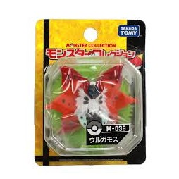 Pokemon Monster Collection - Moncolle Mini Figure - M-038 - Ulgamoth Volcarona - Figure - Takara Tomy