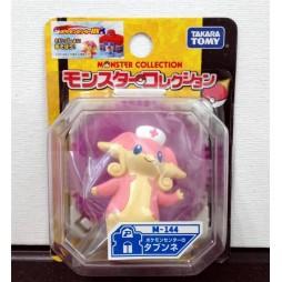 Pokemon Monster Collection - Moncolle Mini Figure - M-144 - Audino Tabunne - Figure - Takara Tomy