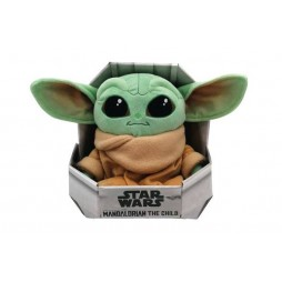 Star Wars Plush - The Mandalorian - The Child Peluche With Display Stand Box 25 cm