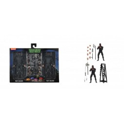Teenage Mutant Ninja Turtles - Foot Soldiers with Weapons Rack - Action Figure 2-Pack SET