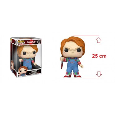 POP! Movies 973 CHILD\'S PLAY 2 (La Bambola Assassina 2) Super Sized Chucky 10-inch Vinyl Figure