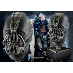Dc Comics - Batman Dark Night Rises Movie - 1/1 SCALE Bane Mask With Display Head - NN4927 - Noble Collection