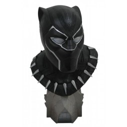 Marvel - Black Panther - Legendary Comics Black Panther 1/2 Bust - Limited Edition NR 0066 of 1000