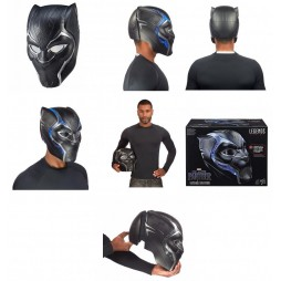 Marvel Legends - Avengers - 1/1 SCALE Black Panther Helmet - Elmo Black Panther - Hasbro