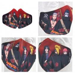 Naruto Shippuden - Mascherina con Akatsuki - Facemask Mask Akatsuki