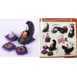 Sen to Chihiro no kamikakushi (Spirited Away) - La città incantata - No face Kaonashi Tea Party 3D Puzzle