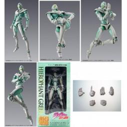 JoJo\'s Bizarre Adventure - Super Action Statue - Medicos - HIEROPHANT GREEN