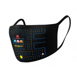 Video Games - Pac Man - Facemask Maze Ready