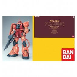 PG Perfect Grade - MS 06S Zaku II Char Aznable\'s Customized Mobile Suit 1/60