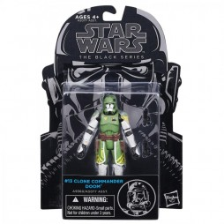 Star Wars - The Black Series - 3.75 Inch Action Figure - #13 - Clone Wars - Clone Commander Doom - Hasbro