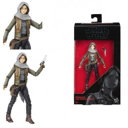 Star Wars - The Black Series - 6 Inch Action Figure - #22 - Rogue One - Sergeant Jyn Erso (Jedha) - Hasbro