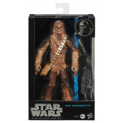 Star Wars - The Black Series - 6inch Action Figure - #04 - EP.IV - Chewbacca - Hasbro