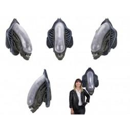 Alien - 1:1 Lifesize Prop Replica Wall Trophy Plaque Head - H.R. Giger Xenomorph Alien - Trofeo Da Muro Dell\'Alieno Xeno
