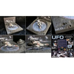 Gerry Anderson\'s UFO - UFO - S.H.A.D.O. Interceptor and Launch Display - Modello Assemblato Limited 2000 pz./mondo