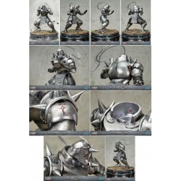 Fullmetal Alchemist Brotherhood - First 4 Figures Statue - Alphonse Elric - Exclusive Combo Edition (Silver Variant)